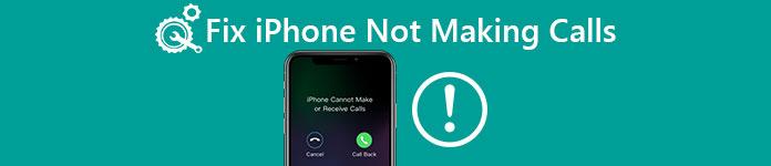 iPhone ne passe pas d'appels