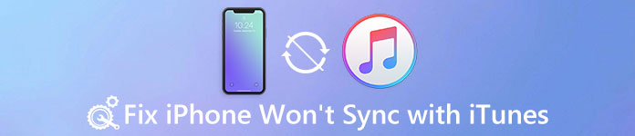 iPhone Won't Sync with iTunes