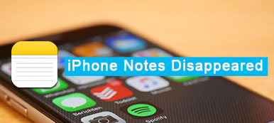 Notes iPhone disparues