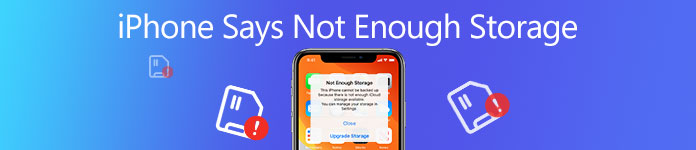 iPhone Says not Enough Storage