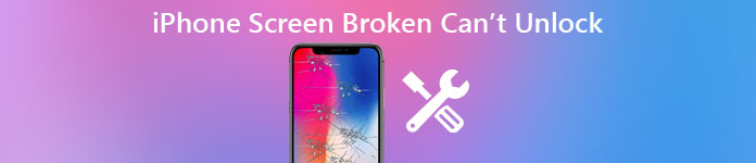 Iphone Screen Broken Cant Unlock
