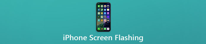 iPhone Screen Flashing