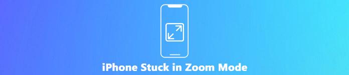 iPhone bloqué en mode zoom