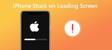 iPhone bleibt beim Laden des Bildschirms hängen