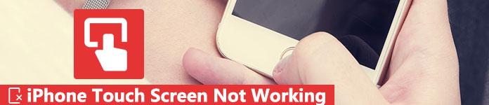 Не работает сенсорный экран iPhone