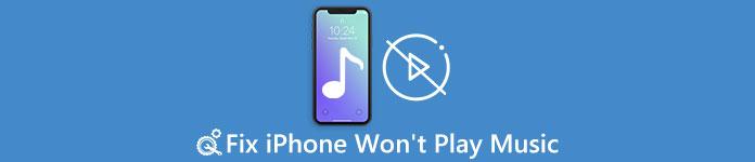 iPhoneが音楽を再生できない