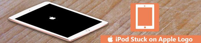 iPodがAppleのロゴで止まっている