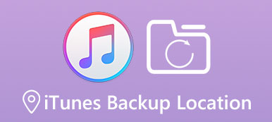 iTunes Backup-Speicherort