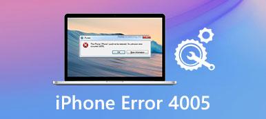 ITunes Fehler 4005
