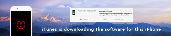 Fixiere das Herunterladen von iTunes