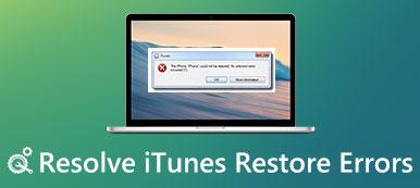 iTunes Wiederherstellungsfehler
