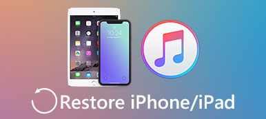 Restaurer l'iPhone / iPad depuis iTunes