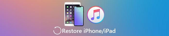 Restaurer l'iPhone / iPad depuis iTunes