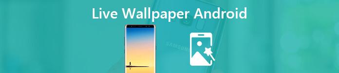 Fond d'écran animé Android