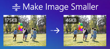 Rendre l'image plus petite
