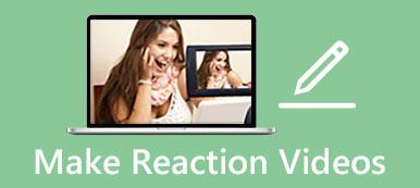 反応ビデオを作成する