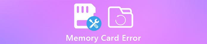 Speicherkartenfehler