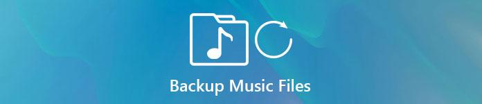 音楽ファイルのバックアップ