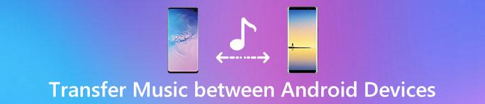Transférer de la musique d'Android à Android