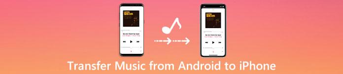 Transférer de la musique depuis Android vers l'iPhone