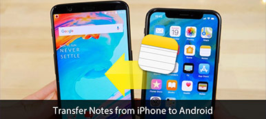 Transférer des notes de l'iPhone vers Android