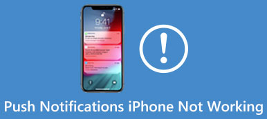Notifications iPhone ne fonctionne pas