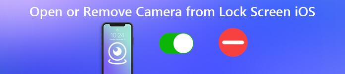 Ouvrir ou supprimer la caméra