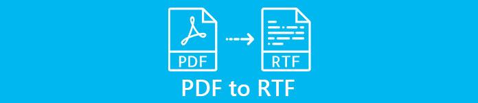 PDFからRTF