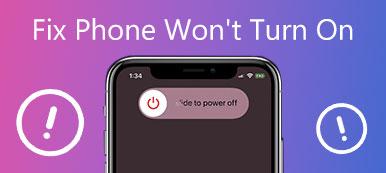 Das Telefon lässt sich nicht einschalten
