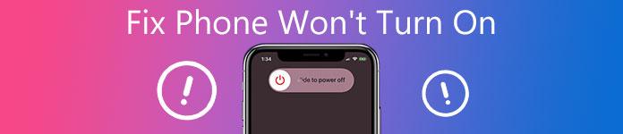 Le téléphone ne s'allume pas