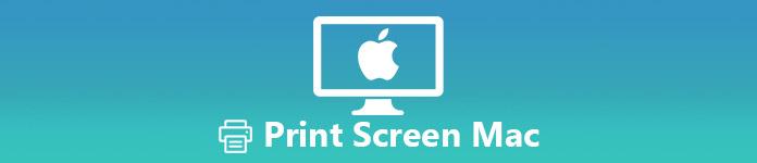 Bildschirm auf Mac drucken