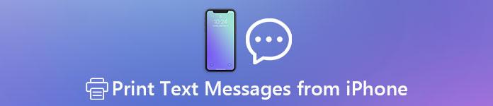 Imprimer des messages texte à partir de l'iPhone