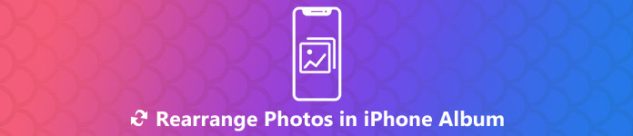 Fotos in einem iPhone-Album neu anordnen