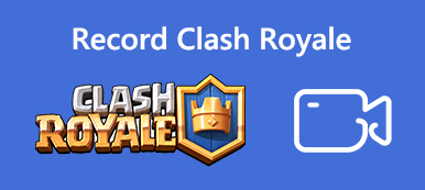 Nehmen Sie das Clash Royale Gameplay-Video auf