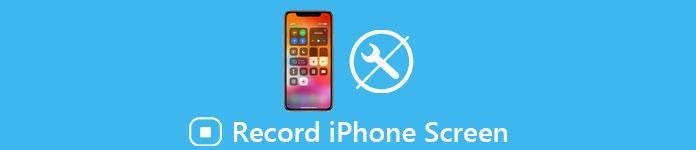IPhone-Bildschirm ohne Jailbreak aufnehmen