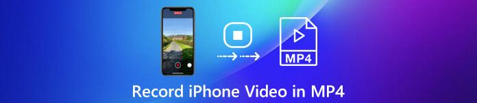 Enregistrer une vidéo iPhone en MP4