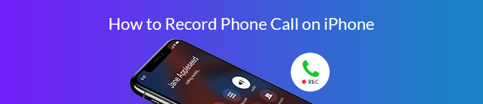 Record Phone Calls on iPhone