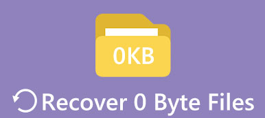 0-Byte-Dateien wiederherstellen