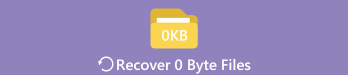 Recover 0 Byte Files