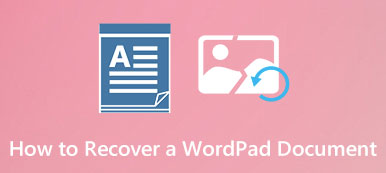 Recover a Microsoft WordPad Document
