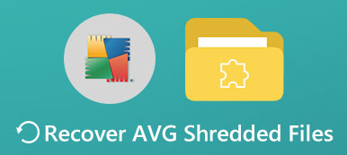 Recover AVG Shredded Files