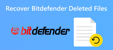 Recover Bitdefender Deleted Files