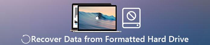 Wiederherstellen von Daten von formatierten Festplatten