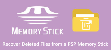 Recover Deleted Files from A PSP Memory Stick