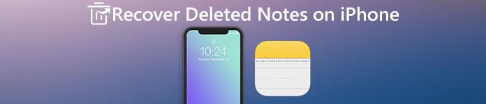 Récupérer les notes supprimées sur l'iPhone 5