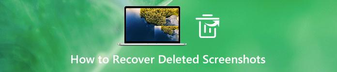 削除されたスクリーンショットを復元する方法