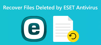 Recover Files Deleted by ESET Antivirus