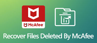 Recover Files Deleted by McAfee Antivirus