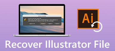Recover Illustrator File