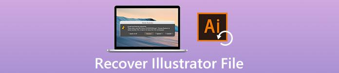 Illustratorファイルを回復する